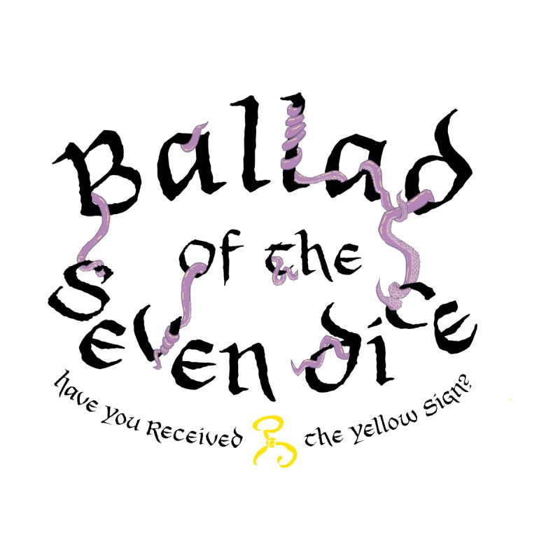 Ballad Tentacle Shirt - Dark Alternate Men's T-Shirt by Ballad of the Seven Dice's Artist Shop