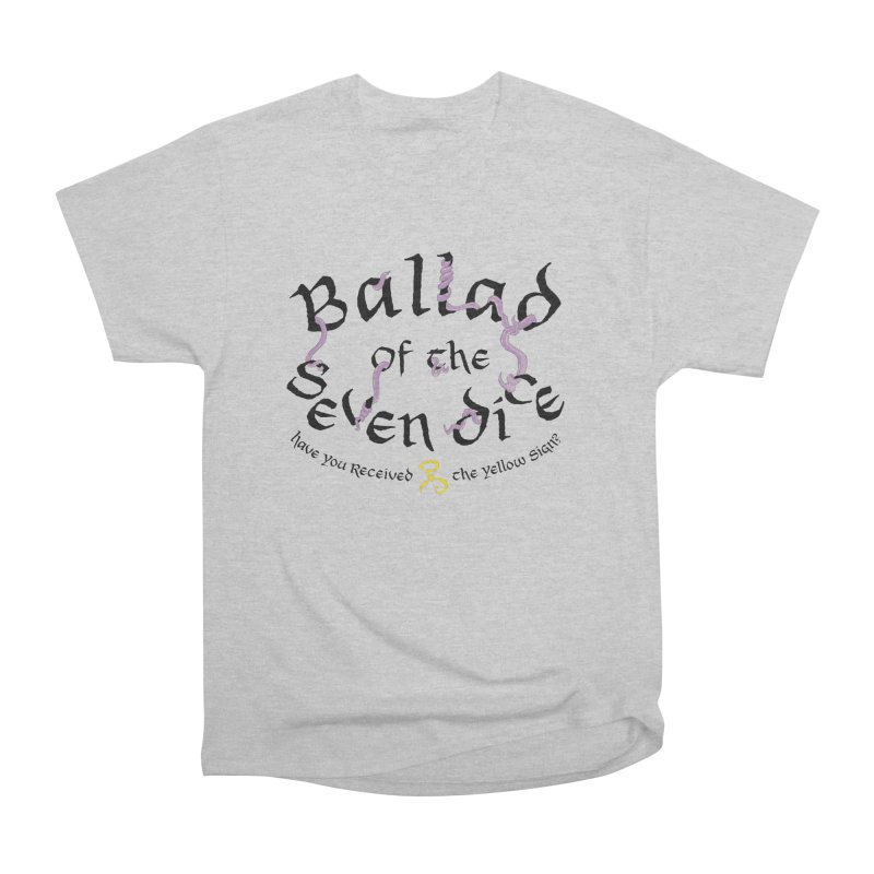 Ballad Tentacle Shirt - Dark Alternate Men's T-Shirt by Ballad of the Seven Dice's Artist Shop