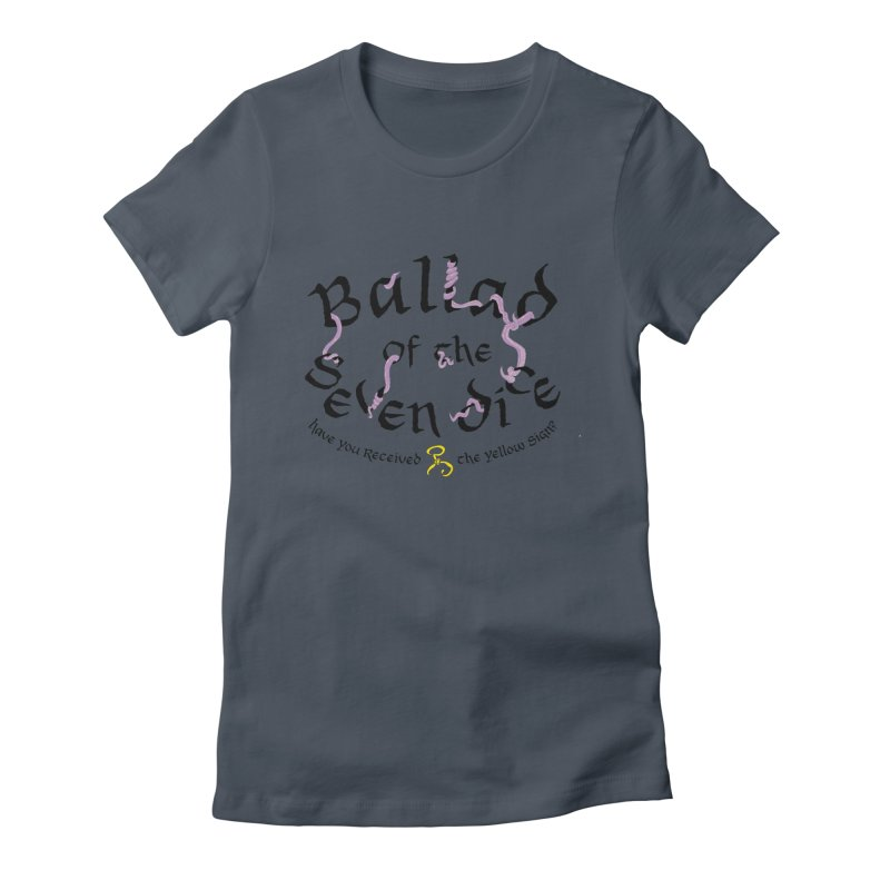 Ballad Tentacle Shirt - Dark Alternate Women's T-Shirt by Ballad of the Seven Dice's Artist Shop