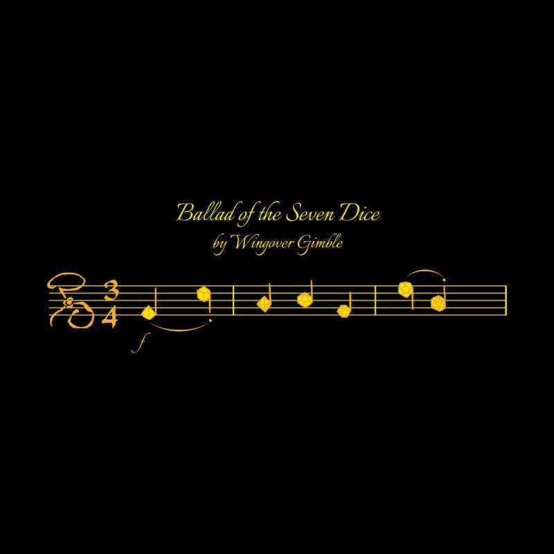 Ballad Sheet Music - Yellow Women's Tank by Ballad of the Seven Dice's Artist Shop