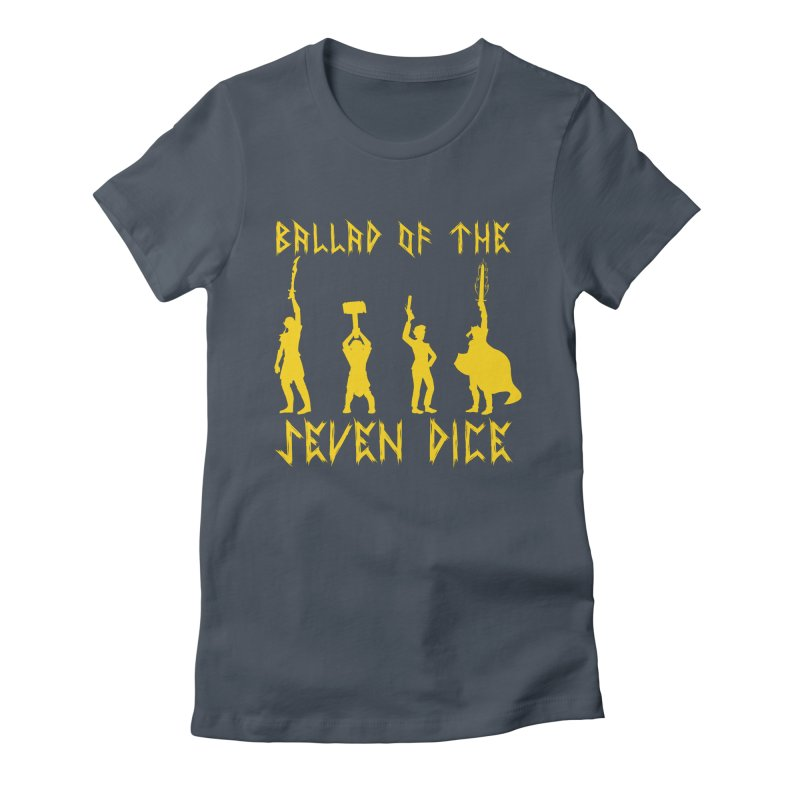 Women's None by Ballad of the Seven Dice's Artist Shop
