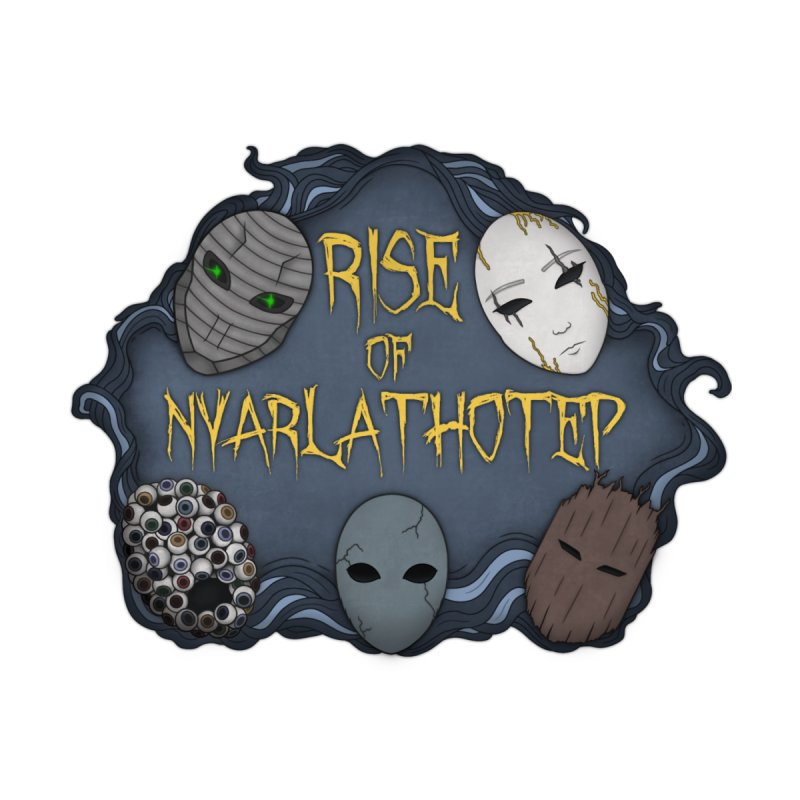 Rise of Nyarlathotep - The Five Masks Accessories Mug by Ballad of the Seven Dice's Artist Shop