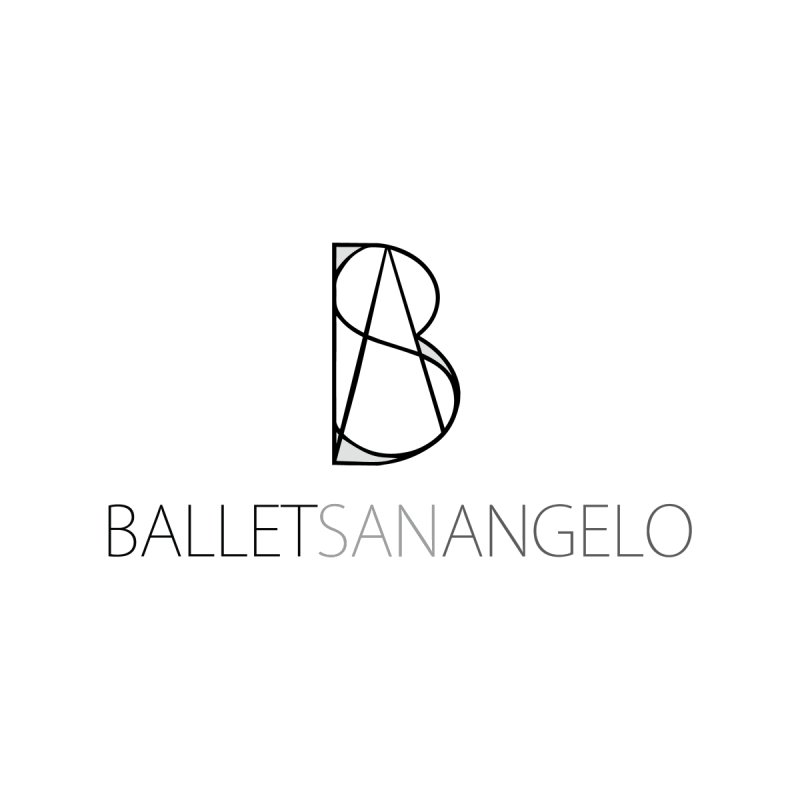 BSA Logo Black by Ballet San Angelo Merchandise