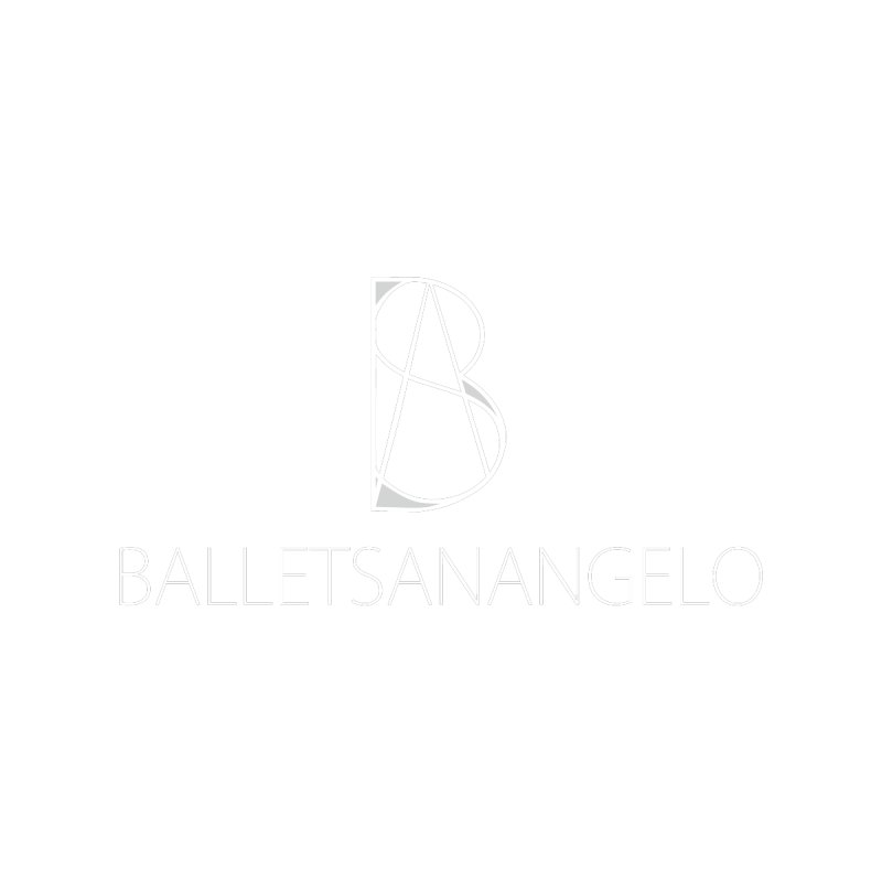 BSA Logo White by Ballet San Angelo Merchandise