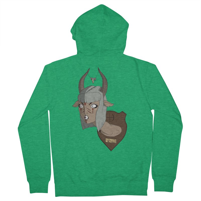 The Demon Inside Said...Take Her Now Women's Zip-Up Hoody by Baloney's Artist Shop