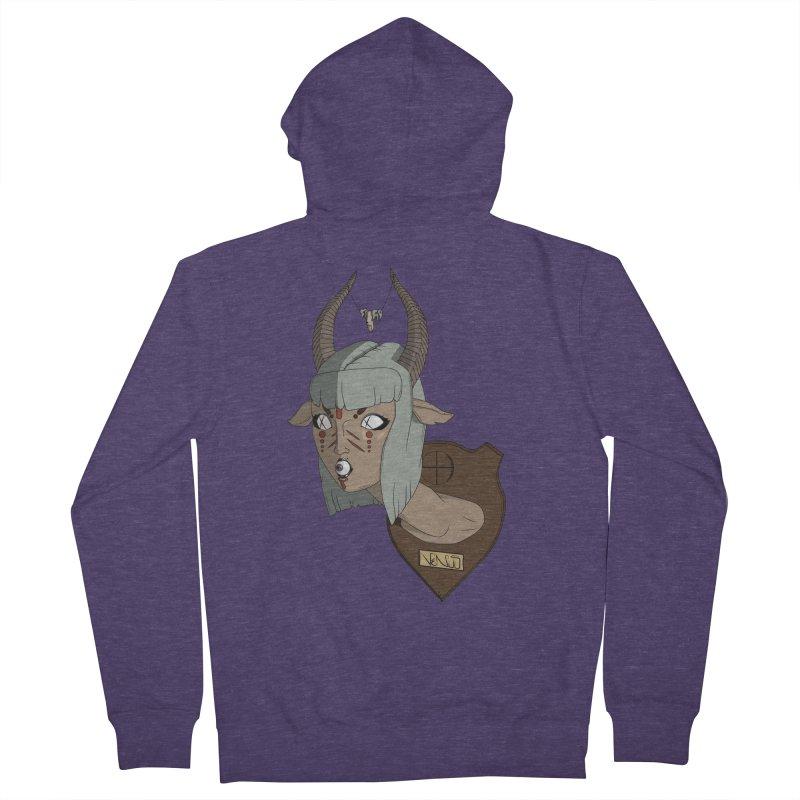 The Demon Inside Said...Take Her Now Men's Zip-Up Hoody by Baloney's Artist Shop