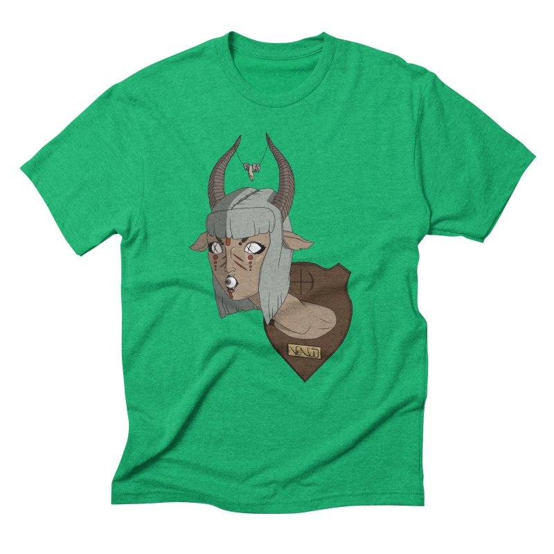 The Demon Inside Said...Take Her Now Men's Triblend T-shirt by Baloney's Artist Shop