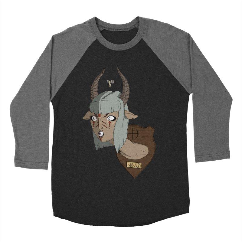 The Demon Inside Said...Take Her Now Women's Baseball Triblend T-Shirt by Baloney's Artist Shop