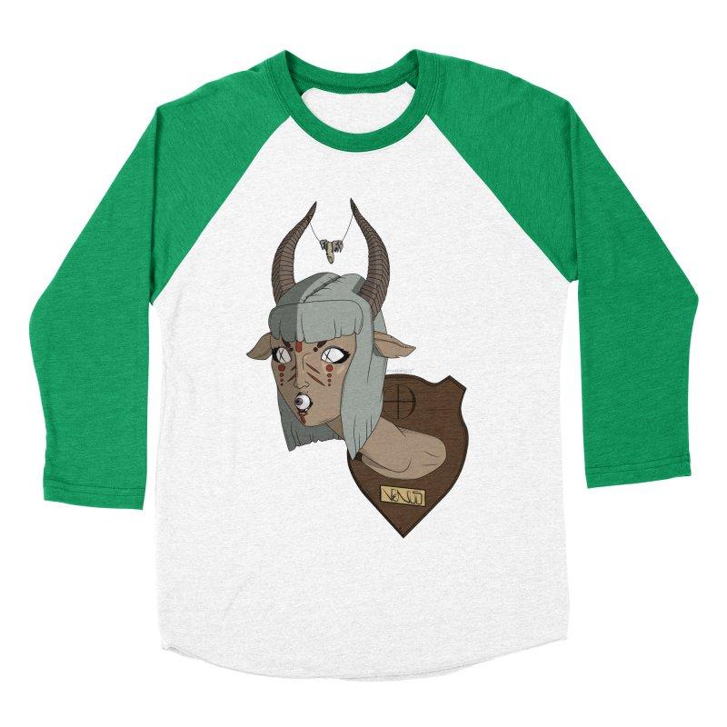 The Demon Inside Said...Take Her Now Men's Baseball Triblend T-Shirt by Baloney's Artist Shop