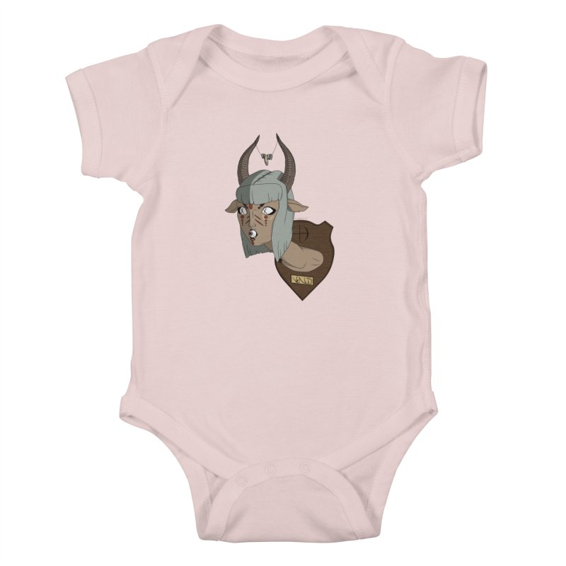 The Demon Inside Said...Take Her Now Kids Baby Bodysuit by Baloney's Artist Shop