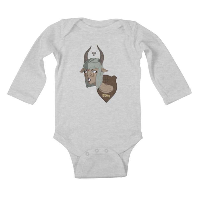 The Demon Inside Said...Take Her Now Kids Baby Longsleeve Bodysuit by Baloney's Artist Shop