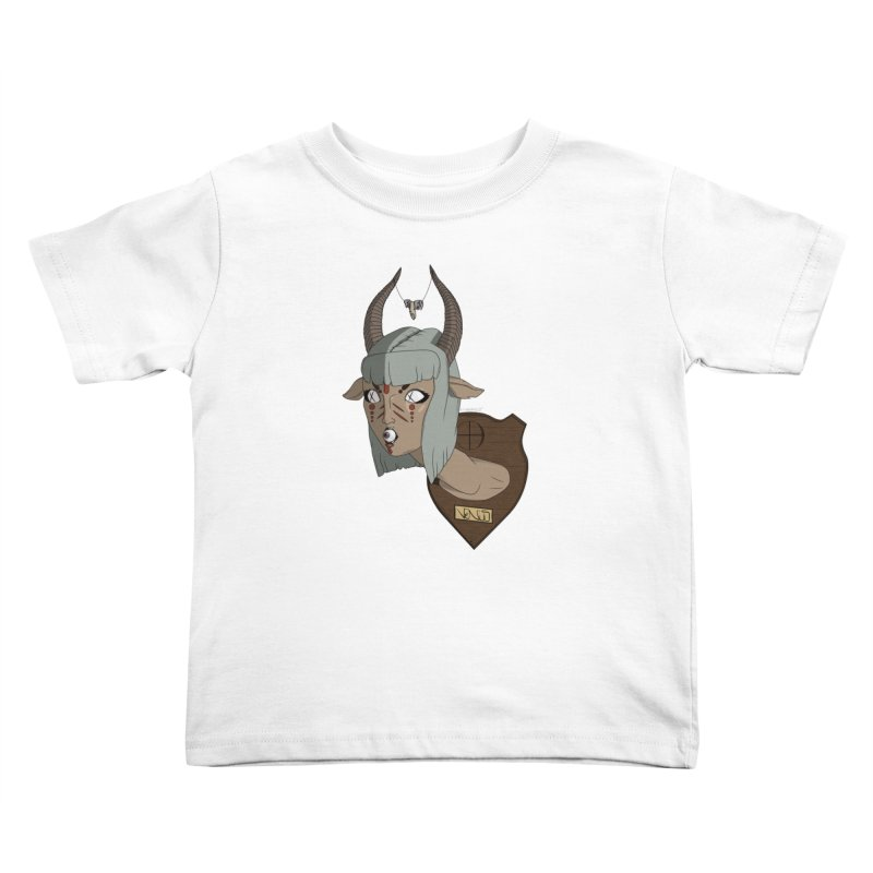 The Demon Inside Said...Take Her Now Kids Toddler T-Shirt by Baloney's Artist Shop