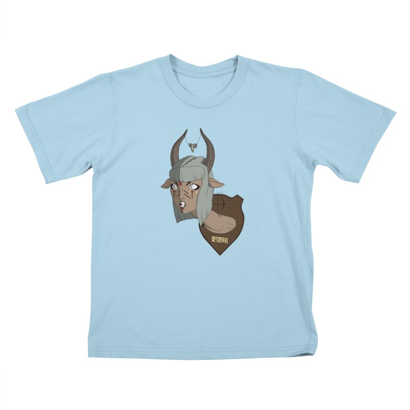 The Demon Inside Said...Take Her Now Kids T-Shirt by Baloney's Artist Shop