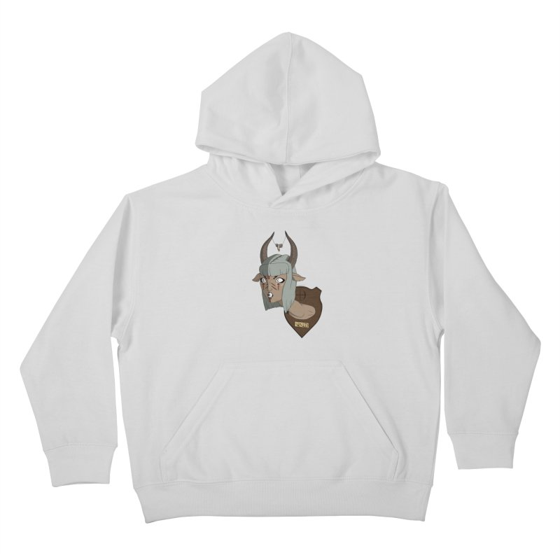 The Demon Inside Said...Take Her Now Kids Pullover Hoody by Baloney's Artist Shop