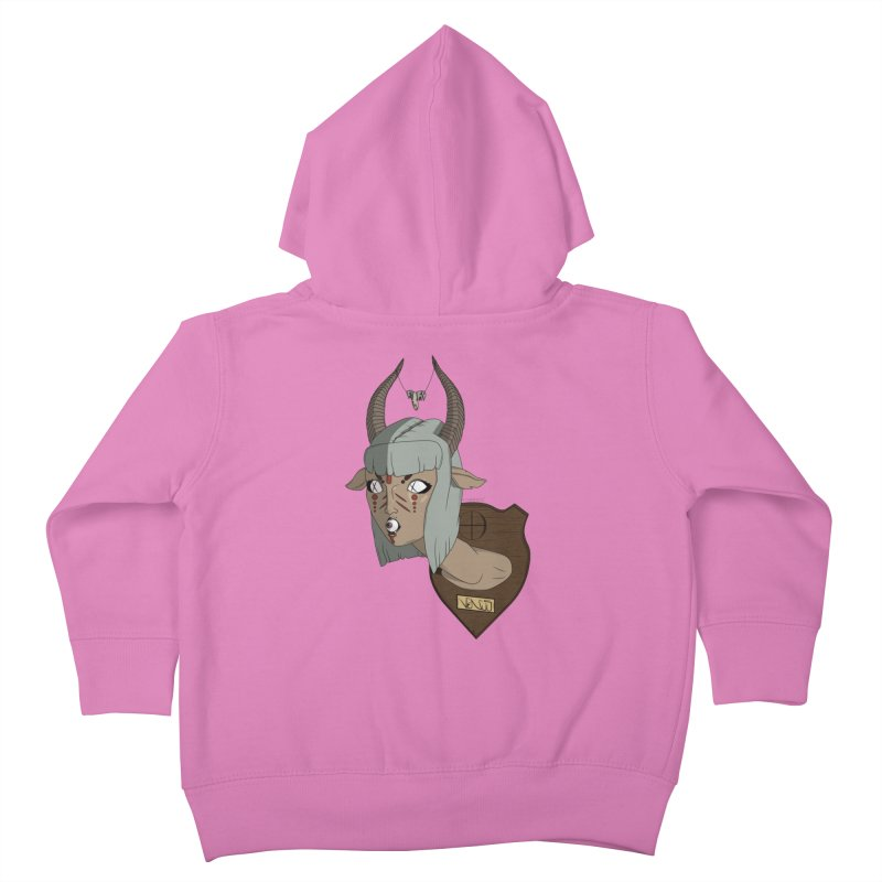 The Demon Inside Said...Take Her Now Kids Toddler Zip-Up Hoody by Baloney's Artist Shop