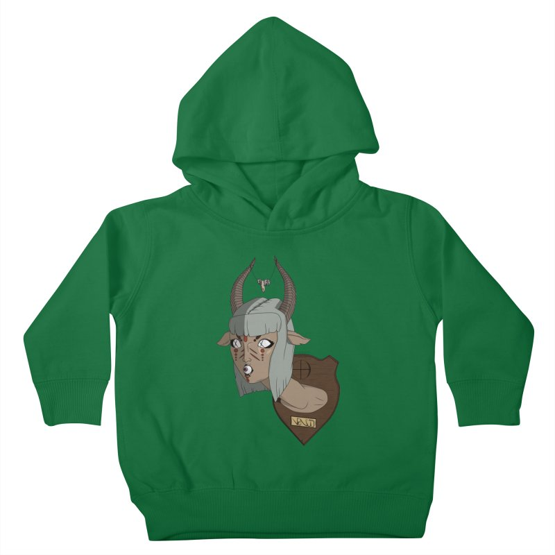 The Demon Inside Said...Take Her Now Kids Toddler Pullover Hoody by Baloney's Artist Shop