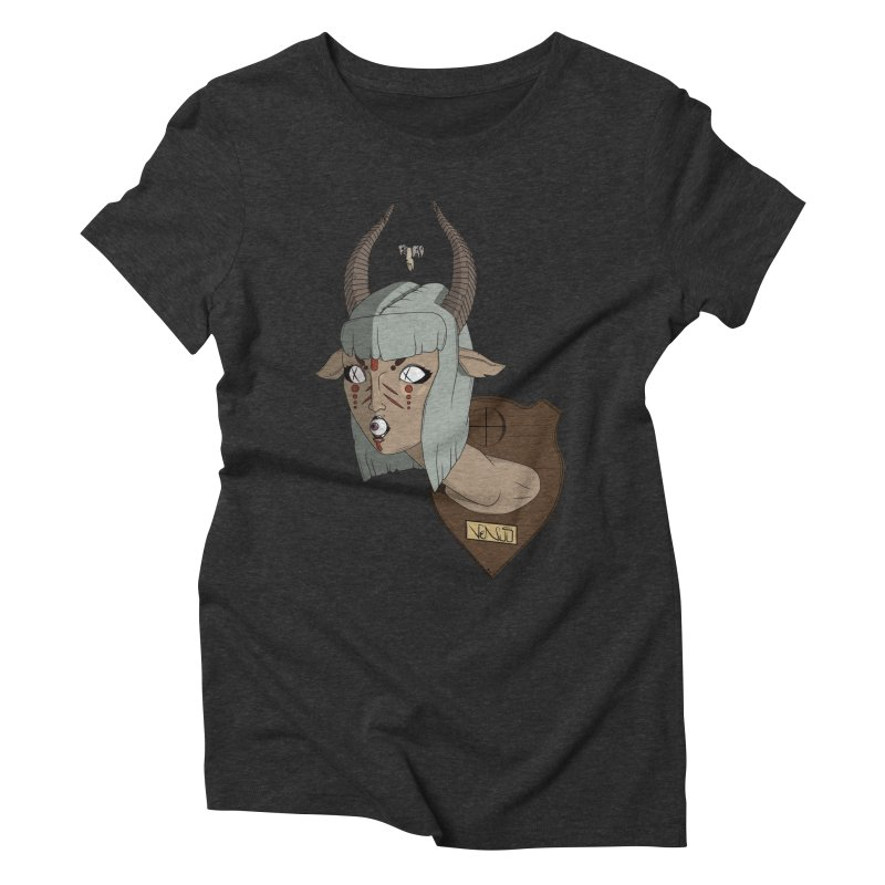 The Demon Inside Said...Take Her Now Women's Triblend T-Shirt by Baloney's Artist Shop