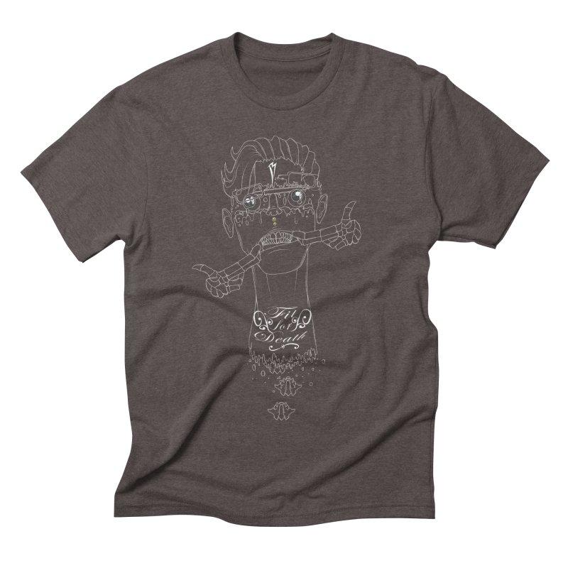 Fit for Death Men's Triblend T-shirt by Baloney's Artist Shop