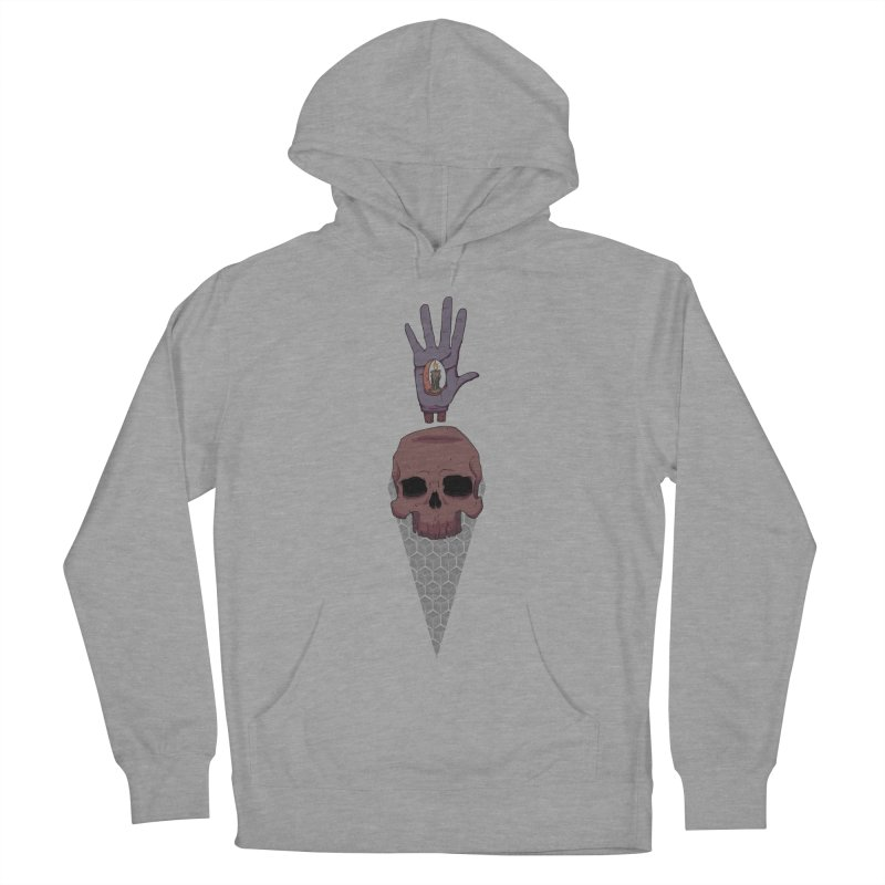 Skulls Inner Light Women's Pullover Hoody by Baloney's Artist Shop