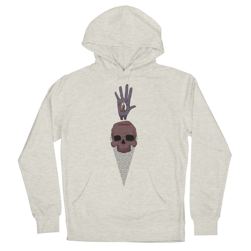 Skulls Inner Light Women's Pullover Hoody by Baloney's Artist Shop