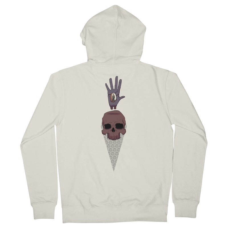 Skulls Inner Light Women's Zip-Up Hoody by Baloney's Artist Shop