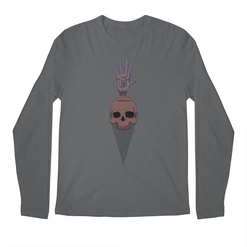 Skulls Inner Light Men's Longsleeve T-Shirt by Baloney's Artist Shop