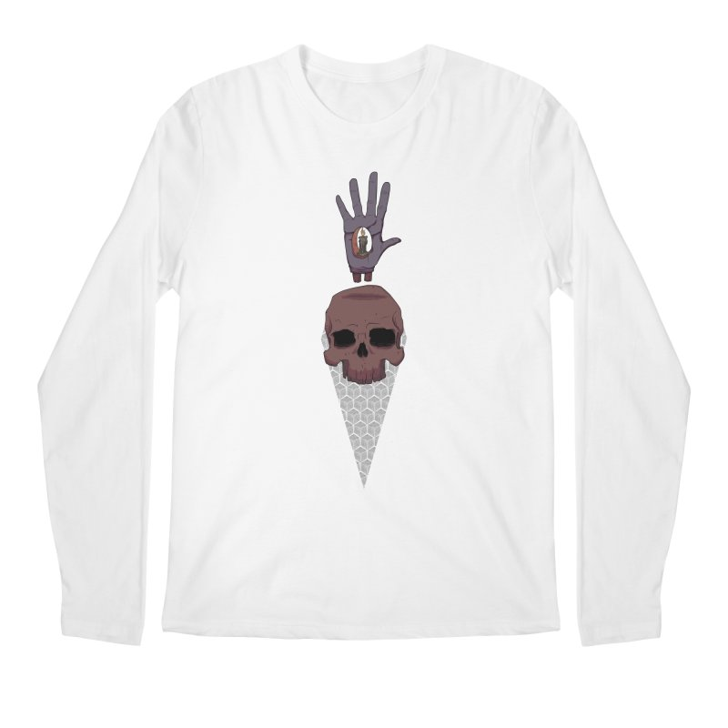 Skulls Inner Light Men's Longsleeve T-Shirt by Baloney's Artist Shop