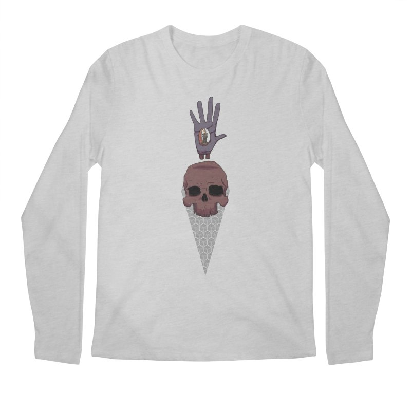 Skulls Inner Light Men's Regular Longsleeve T-Shirt by Baloney's Artist Shop