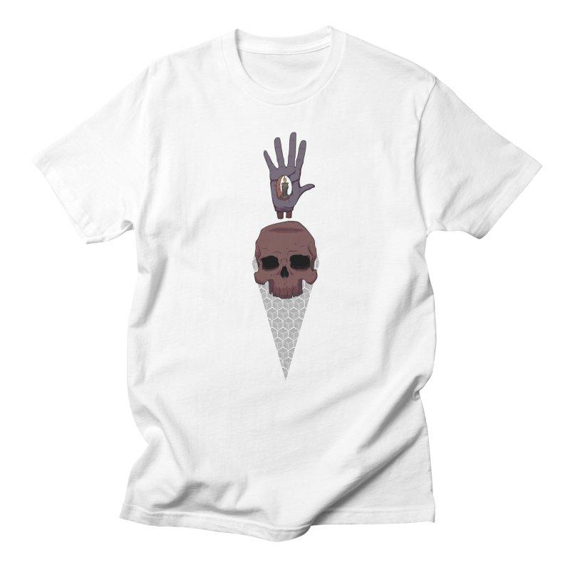 Skulls Inner Light Men's T-shirt by Baloney's Artist Shop