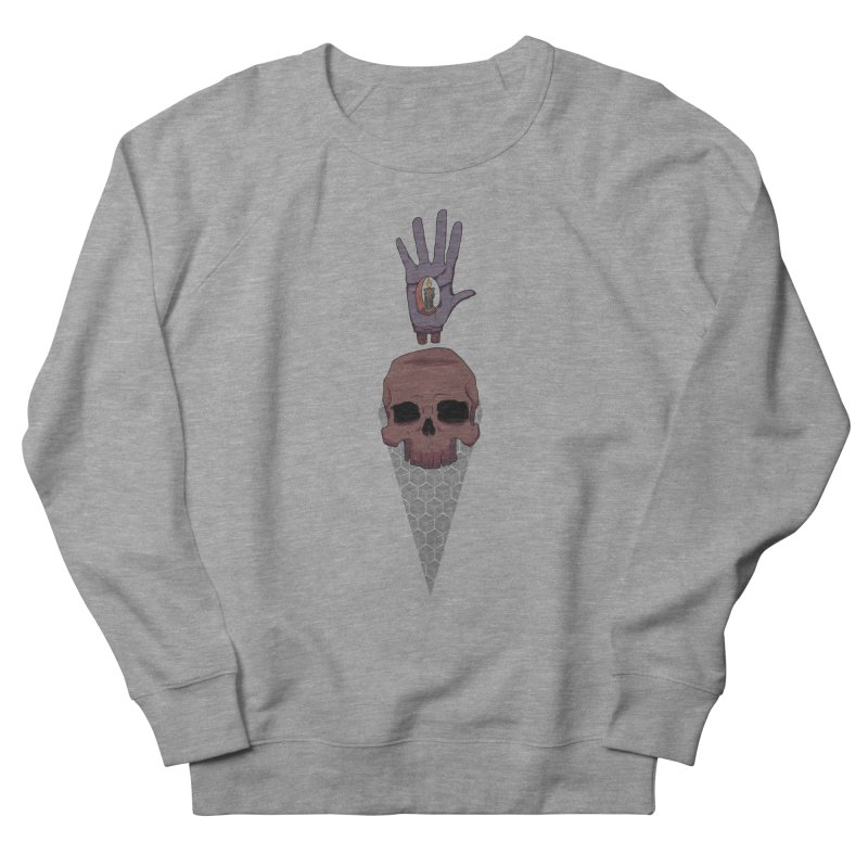 Skulls Inner Light Women's French Terry Sweatshirt by Baloney's Artist Shop