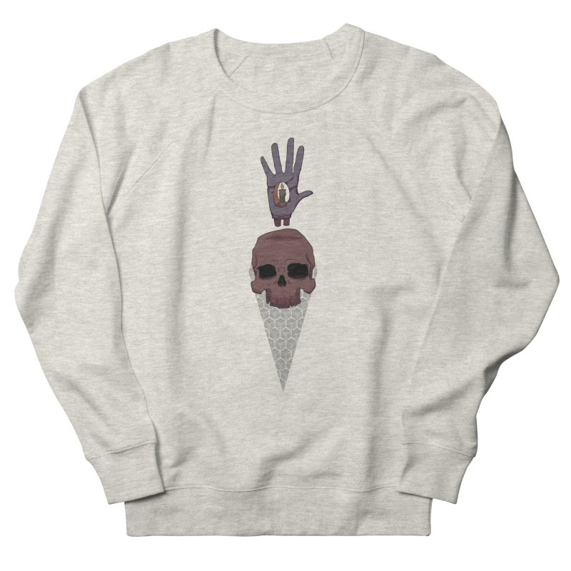 Skulls Inner Light Women's Sweatshirt by Baloney's Artist Shop