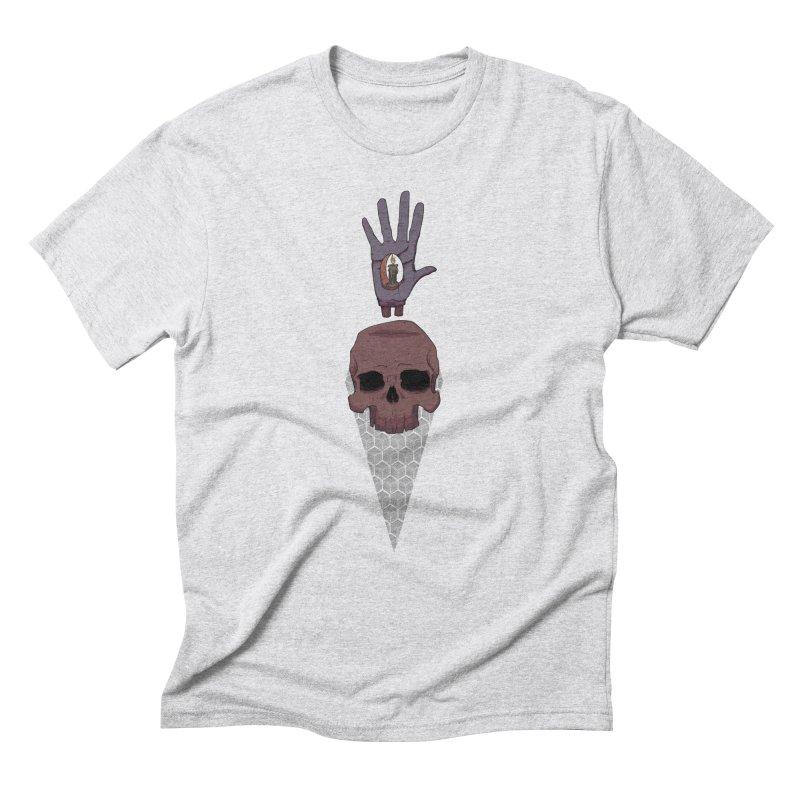 Skulls Inner Light Men's Triblend T-shirt by Baloney's Artist Shop
