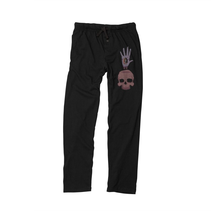 Skulls Inner Light Men's Lounge Pants by Baloney's Artist Shop