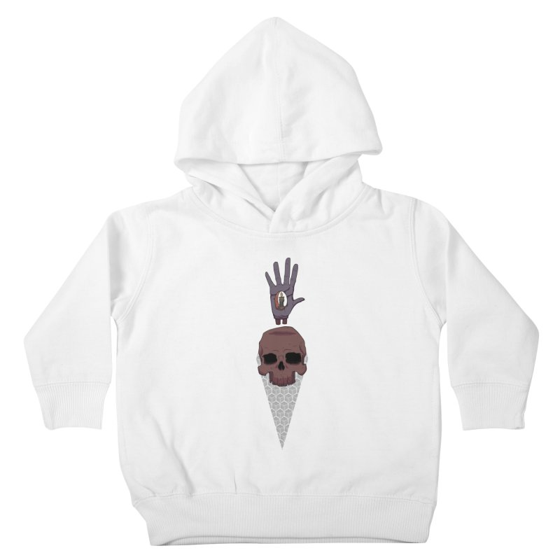 Skulls Inner Light Kids Toddler Pullover Hoody by Baloney's Artist Shop