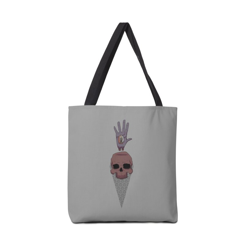 Skulls Inner Light Accessories Bag by Baloney's Artist Shop