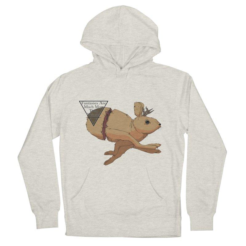 Jackalope Fantasy Men's Pullover Hoody by Baloney's Artist Shop