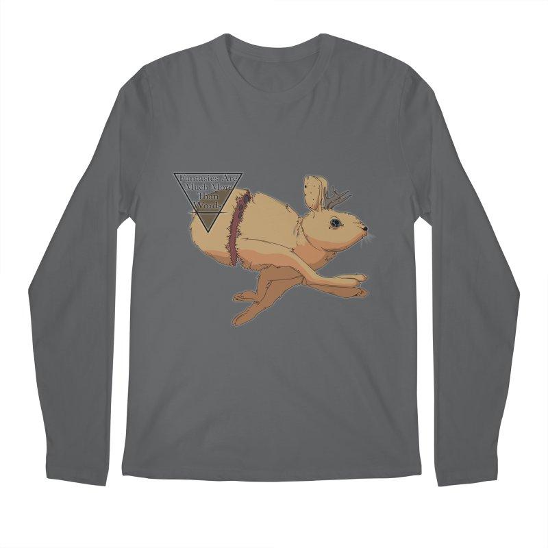 Jackalope Fantasy Men's Longsleeve T-Shirt by Baloney's Artist Shop