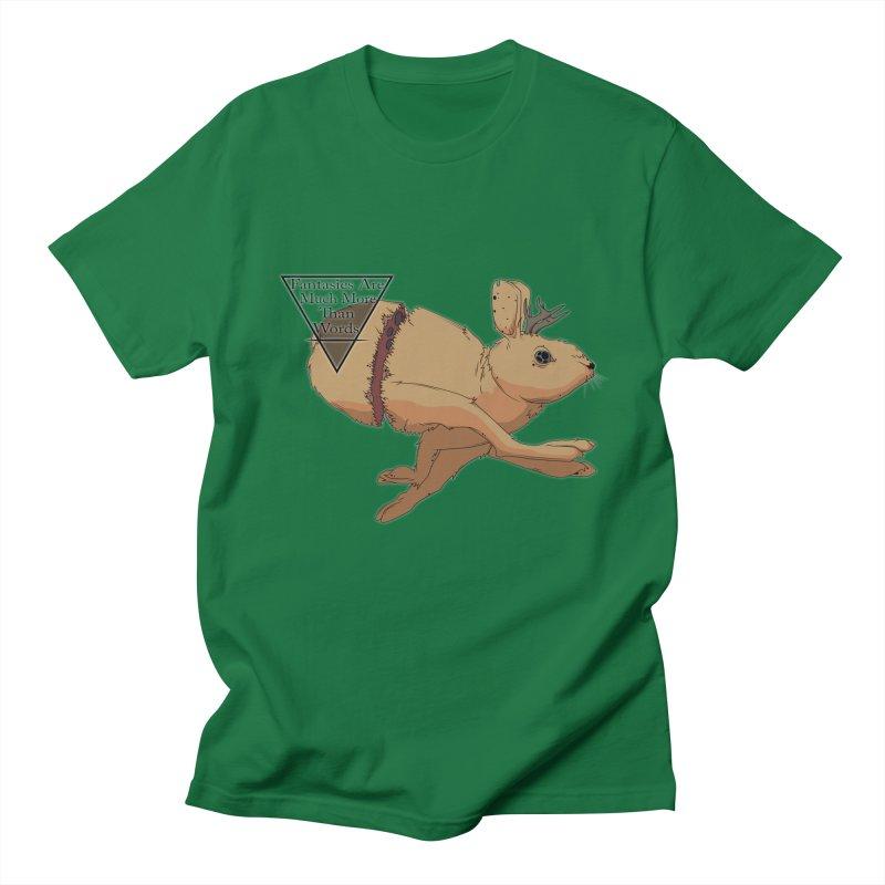 Jackalope Fantasy Men's T-shirt by Baloney's Artist Shop