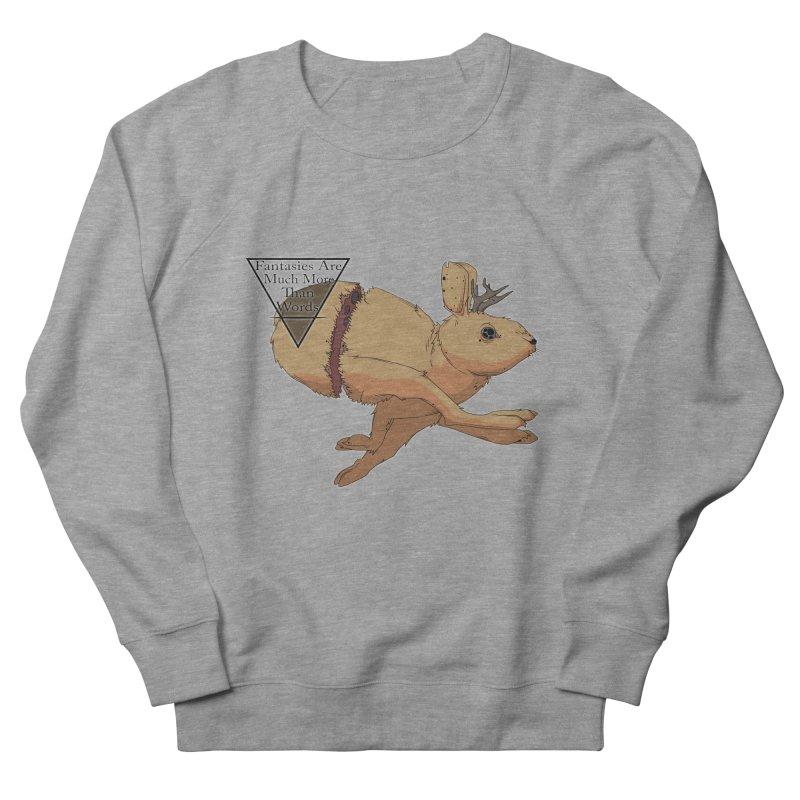 Jackalope Fantasy Men's Sweatshirt by Baloney's Artist Shop