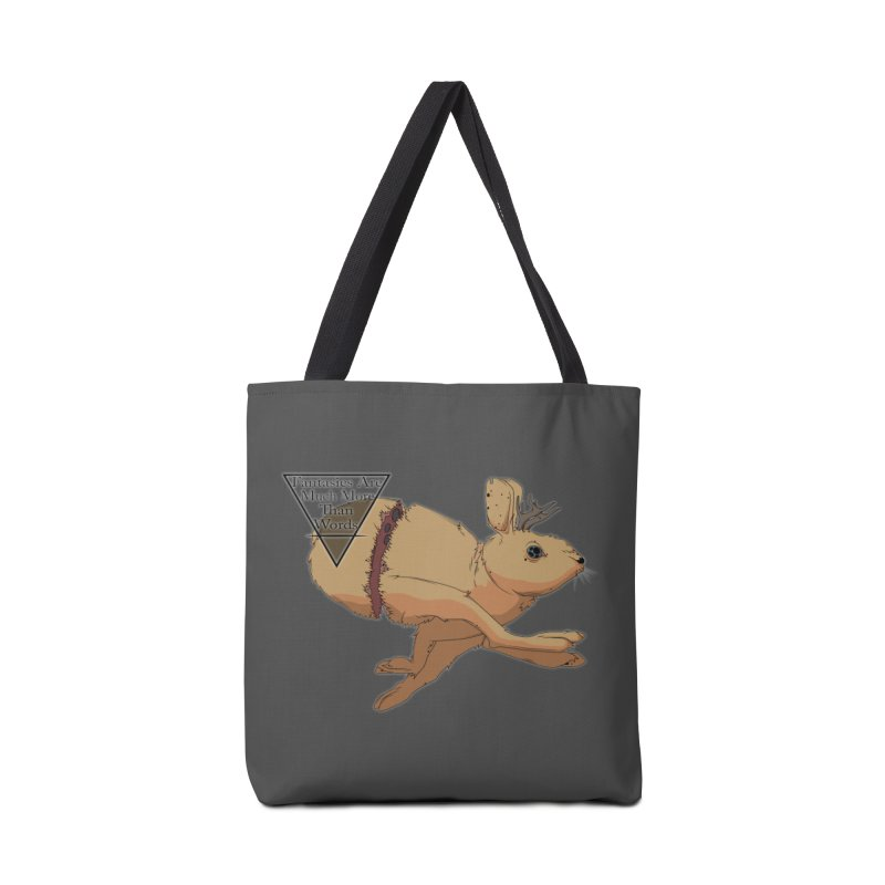 Jackalope Fantasy Accessories Bag by Baloney's Artist Shop