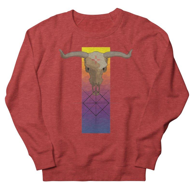 Skull Sunrise Women's Sweatshirt by Baloney's Artist Shop