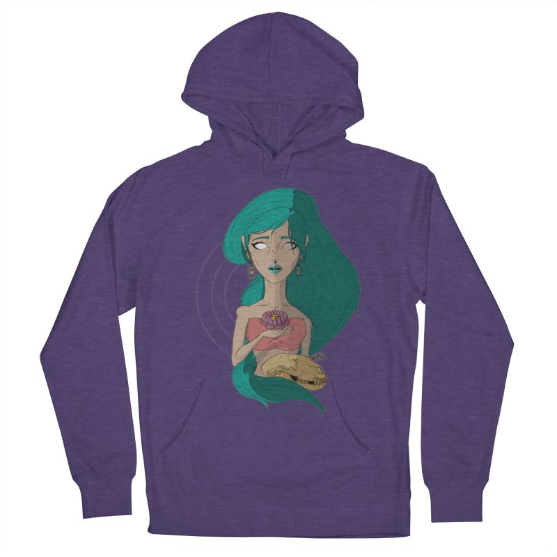 Lotus Women's Pullover Hoody by Baloney's Artist Shop