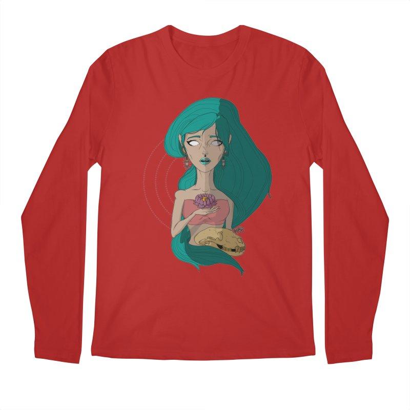 Lotus Men's Longsleeve T-Shirt by Baloney's Artist Shop