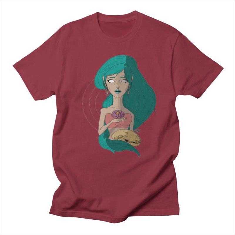 Lotus Men's T-shirt by Baloney's Artist Shop