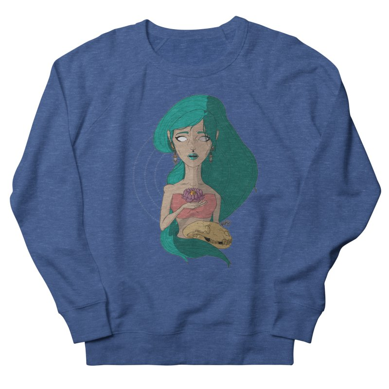 Lotus Women's Sweatshirt by Baloney's Artist Shop