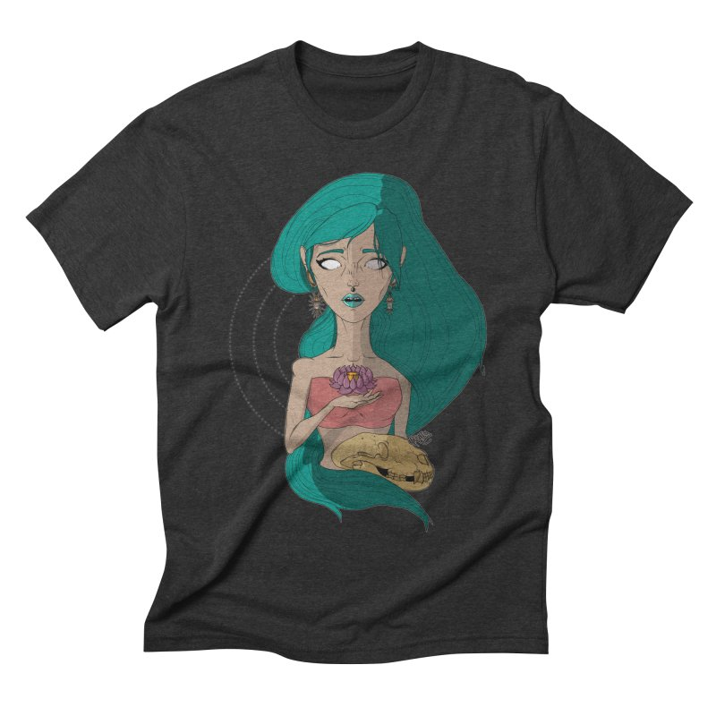 Lotus Men's Triblend T-shirt by Baloney's Artist Shop