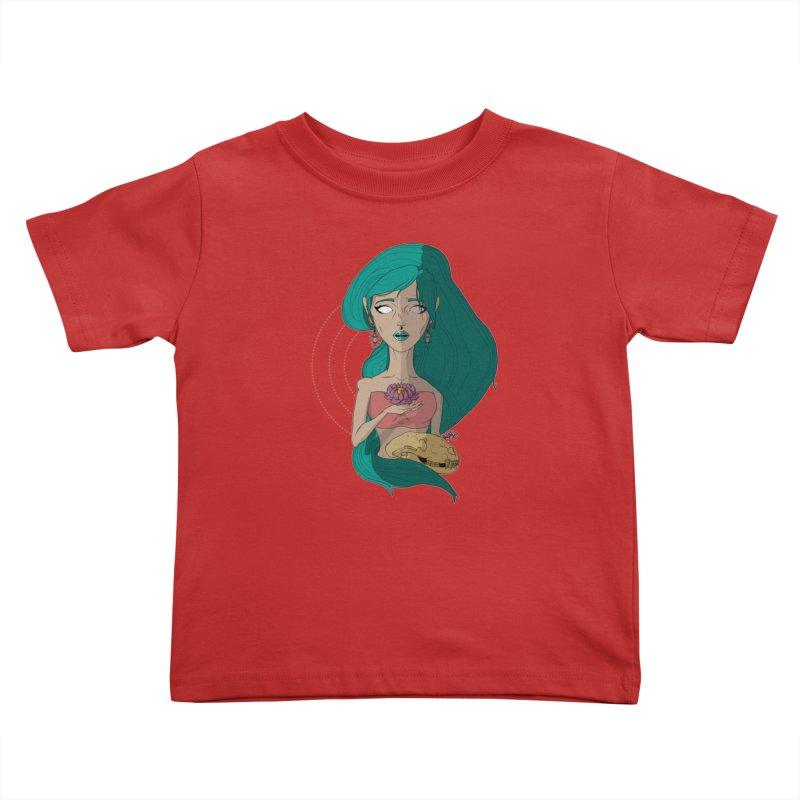 Lotus Kids Toddler T-Shirt by Baloney's Artist Shop