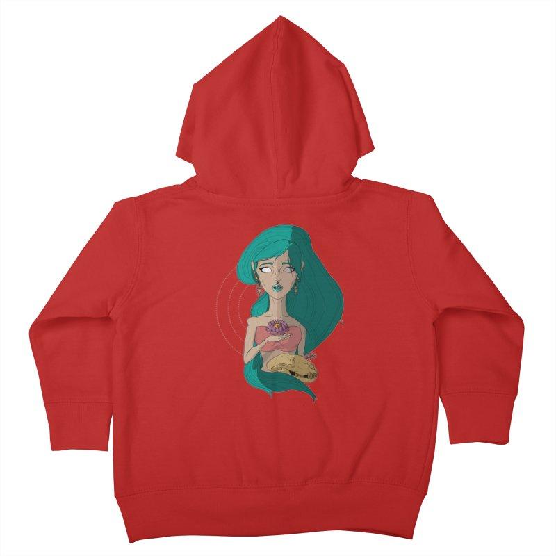Lotus Kids Toddler Zip-Up Hoody by Baloney's Artist Shop