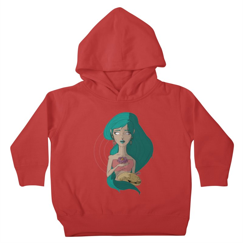 Lotus Kids Toddler Pullover Hoody by Baloney's Artist Shop