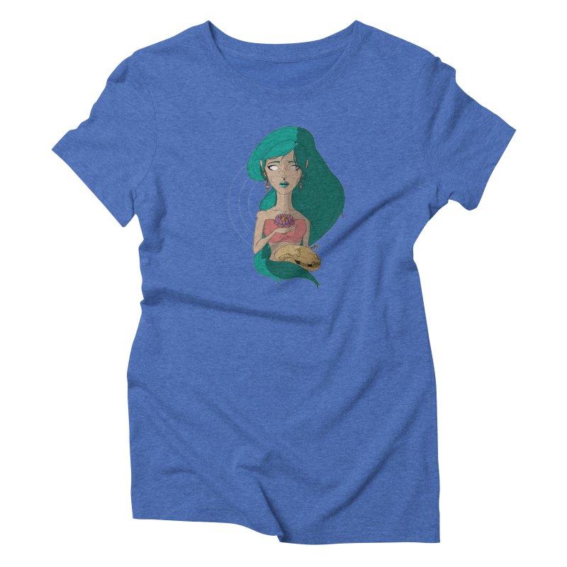 Lotus Women's T-Shirt by Baloney's Artist Shop